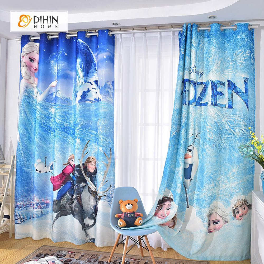 3d Printed Blackout Curtain Customized Window Curtains