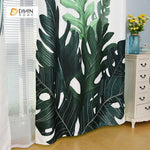DIHINHOME Home Textile Modern Curtain DIHIN HOME 3D Printed Natural Plant Blackout Curtains ,Window Curtains Grommet Curtain For Living Room ,39x102-inch,2 Panels Included