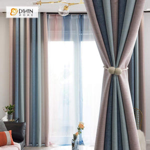 Tree Curtain Blackout Grommet Window Curtain for Living Room ...