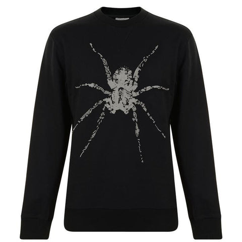 Men's Lanvin Spider Sweatshirt | Black