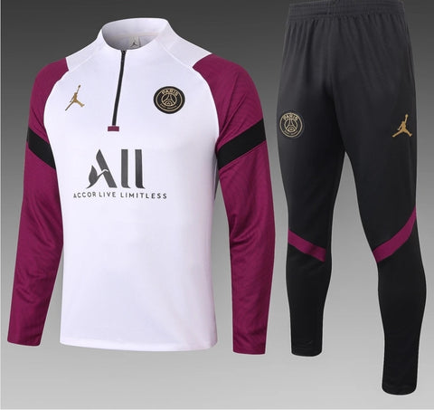 PSG J Training Tracksuit | 20-21  Black & Purple