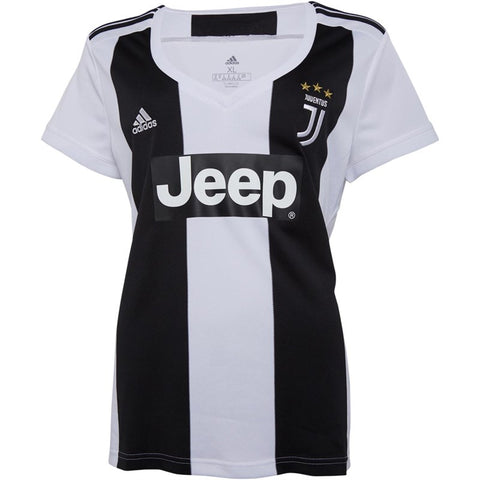 Women's Adidas JFC Juventus Home Jersey | Black/White