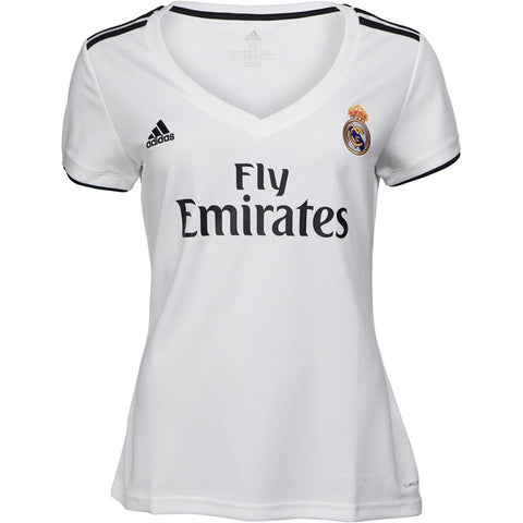 Women's Adidas RMCF Real Madrid Home Jersey | Classic White
