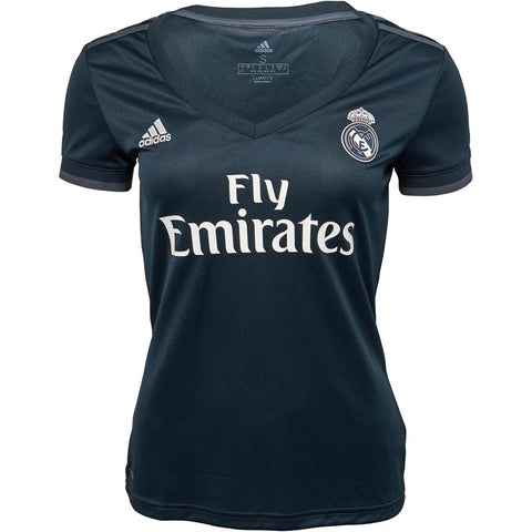 Women's Adidas RMCF Real Madrid Away Jersey | Onix