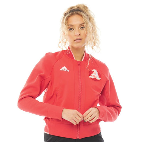 Womens's Adidas Athletics VRCT Jacket |  Glow Red