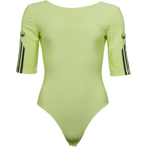 Women's Adidas Originals 3-Stripes Bodysuit Semi | Frozen Yellow