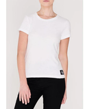 Women's CALVIN KLEIN JEANS Core Slim T-Shirt | White