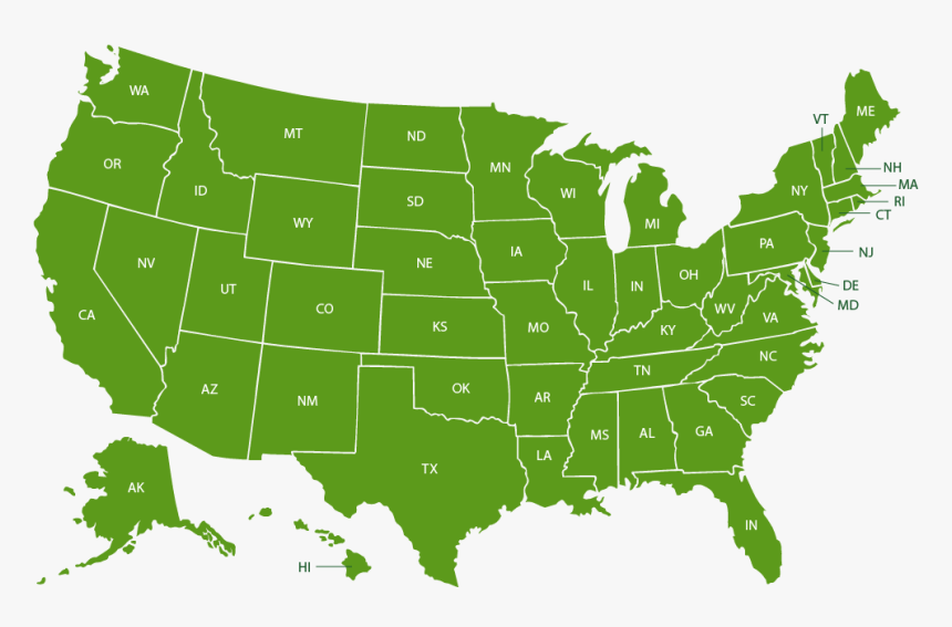In Which States Is Cannabis Legal?