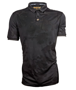 SubPar® - Ghost Camo Black Polo Mens
