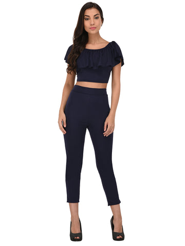 Lozanoo trendy  black co-ord set