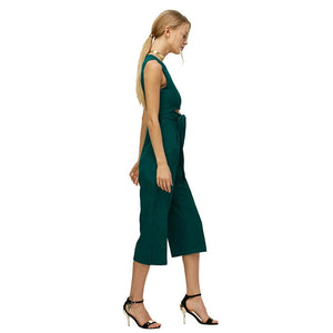 Lozanoo trendy hollow out green jumpsuit