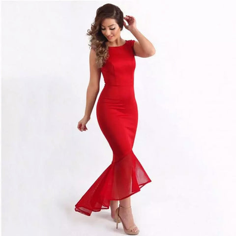 Lozanoo beautiful bodycon red dress