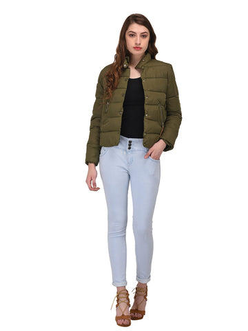 lozanoo olive green smart jacket