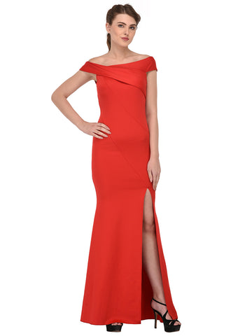 lozanoo beautiful women long dress evening gown, cocktail dress with boat neck