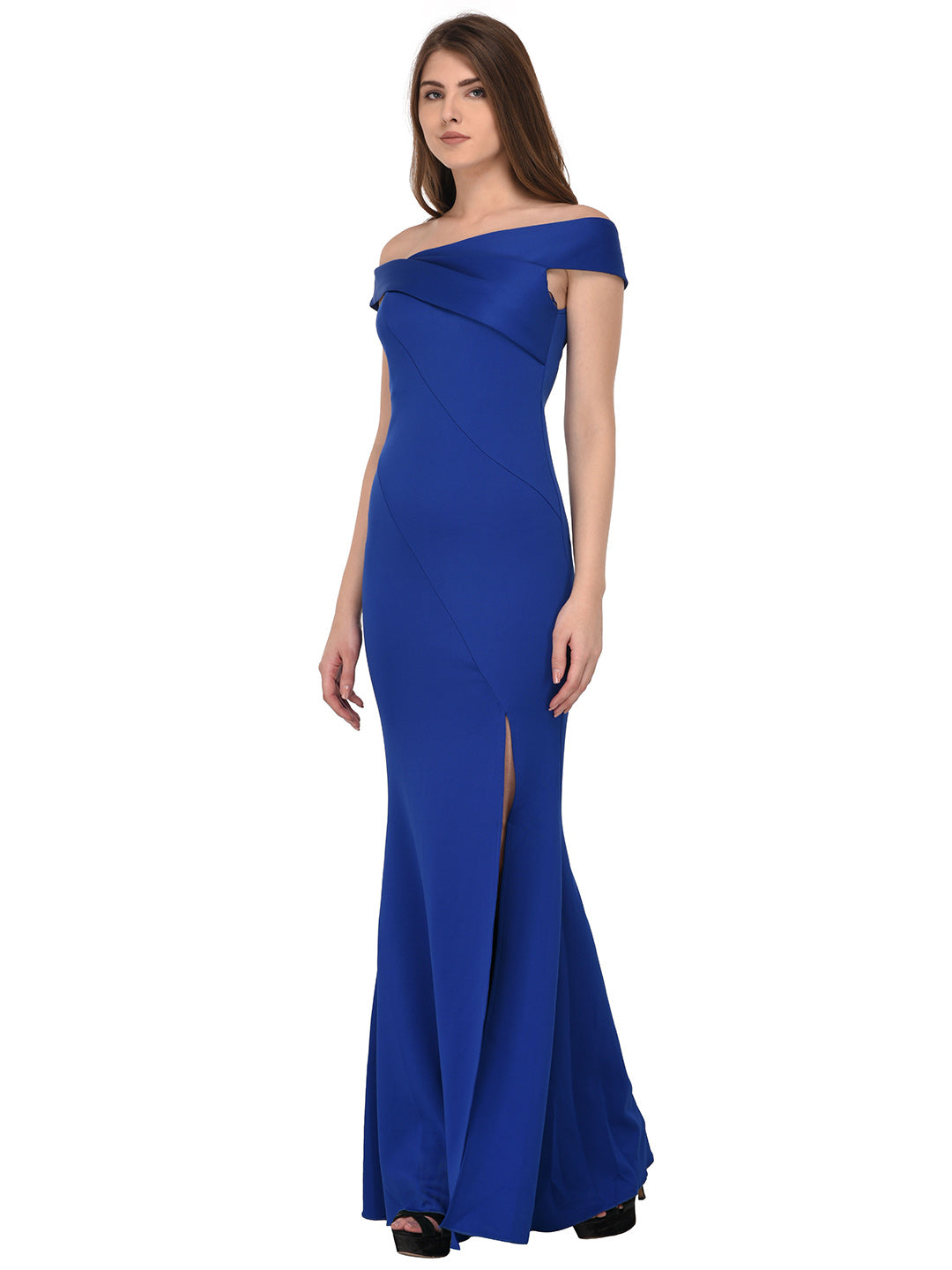 f36671f1a757 ... Load image into Gallery viewer, lozanoo beautiful Blue women long dress  evening gown, cocktail ...