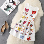 Lozanoo cute little butterfly dress