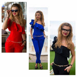 Lozanoo  beautiful jumpsuit in 3 different colors-red, blue AND black