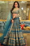 Complete Party attire with detailing - Heavy Lehenga,Blouse with Duppata