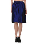 Lozanoo silk blue skirt