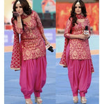 Complete Suit Attire with lining & small detailing - Kurti with Cigarette pant/Patiala salwar
