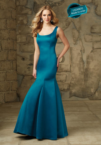 BONDIBLUE EVENING DRESS GOWN