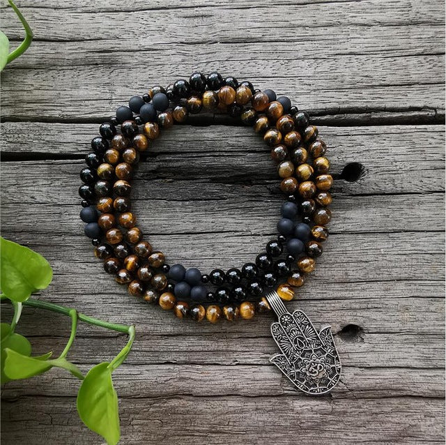 Protection Mala 108 Bead