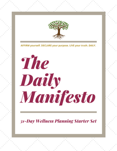 Wellness Planning Starter Set, PDF Download