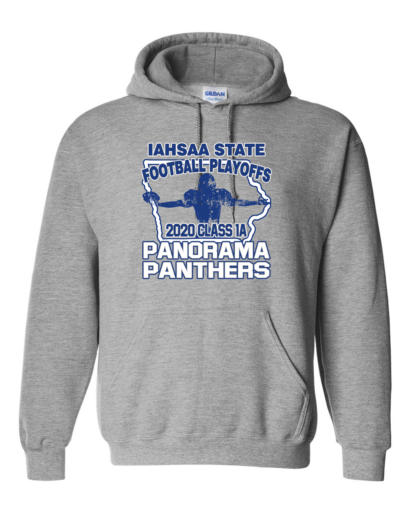 Panorama State FB-Gildan - DryBlend® Hooded Sweatshirt - 12500 Sport Grey