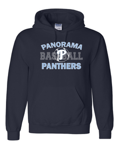 Panorama Baseball-Gildan - DryBlend Hooded Sweatshirt - 12500 navy