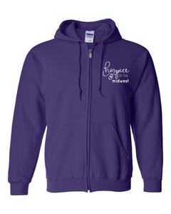 Hospice of the Midwest-Gildan - Heavy Blend Full-Zip Hooded Sweatshirt - 18600