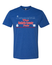 Load image into Gallery viewer, 2020 GCF 4-H FUNDRAISER-Next Level - CVC Short Sleeve Crew - 6210 ROYAL BLUE
