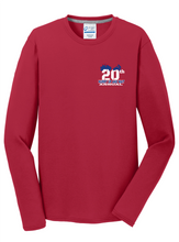 Load image into Gallery viewer, 2020 HURRY UP AND WAIT-Port & Company® Long Sleeve Performance Blend Tee PC381LS