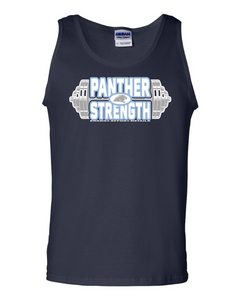 PANTHER STRENGTH--Gildan - Ultra Cotton Tank Top - 2200 NAVY