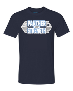 PANTHER STRENGTH--Gildan - Performance Short Sleeve T-Shirt - 42000 NAVY