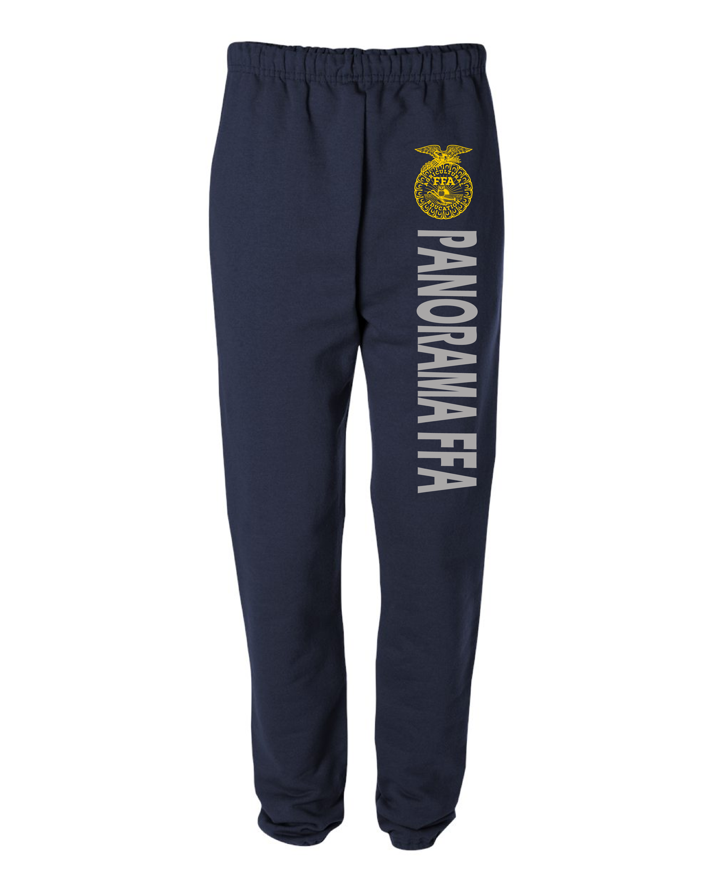 Panorama FFA-Jerzees - SUPER SWEATS Sweatpants with Pockets - Navy-4850MR