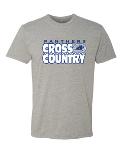 Panorama Cross Country--Next Level - CVC Short Sleeve Crew - 6210 Dark Heather Grey