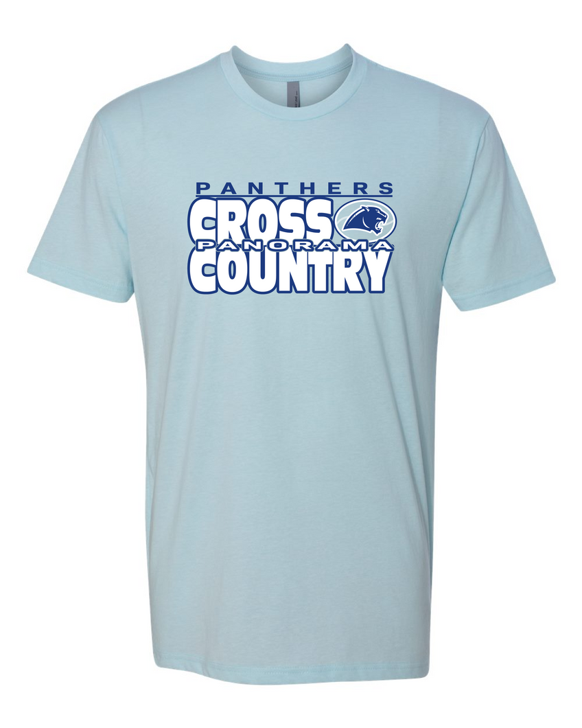 Panorama Cross Country--Next Level - CVC Short Sleeve Crew - 6210 Ice Blue