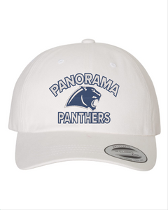 Panorama Boosters-Yupoong - Peached Twill Dad's Cap - 6245PT WHITE