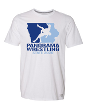 Load image into Gallery viewer, 2020 STATE WRESTLING-Russell Athletic - Essential 60/40 Performance T-Shirt - 64STTM WHITE