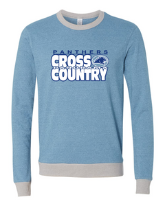 Panorama Cross Country-Alternative - Eco Mock Twist French Terry Contrast Crew - 9898 Mock Storm