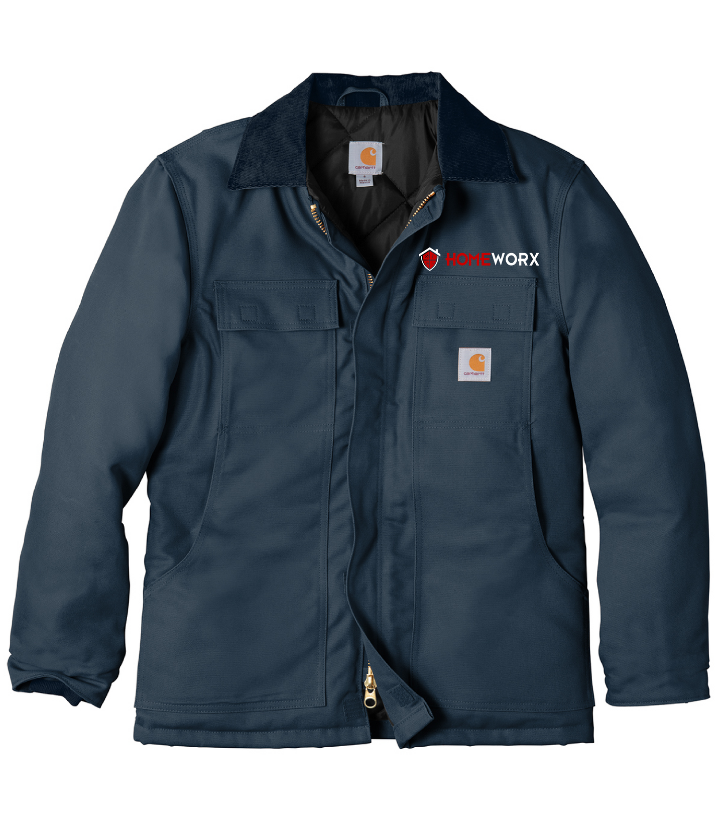 Homeworx-CTC003  Carhartt ® Duck Traditional Coat- Navy