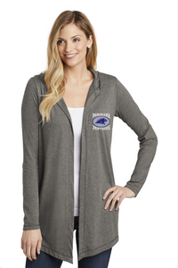 Panorama Boosters-District ® Women's Perfect Tri ® Hooded Cardigan-DT156