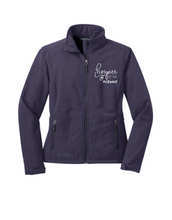 Load image into Gallery viewer, Hospice of the Midwest-Eddie Bauer Ladies Shaded Crosshatch Soft Shell Jacket-EB533