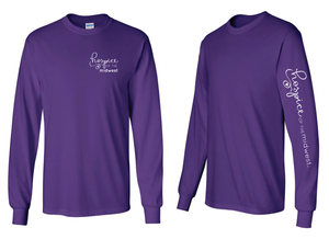 Hospice of the Midwest--Gildan - Ultra Cotton Long Sleeve T-Shirt - 2400
