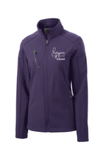 Load image into Gallery viewer, Hospice of the Midwest-Port Authority® Ladies Welded Soft Shell Jacket-L324