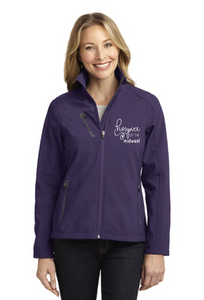 Hospice of the Midwest-Port Authority® Ladies Welded Soft Shell Jacket-L324