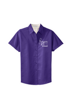 Load image into Gallery viewer, Hospice of the Midwest-Port Authority® Ladies Short Sleeve Easy Care Shirt-L508