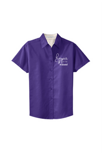 Hospice of the Midwest-Port Authority® Ladies Short Sleeve Easy Care Shirt-L508