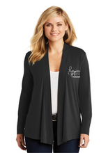 Load image into Gallery viewer, Hospice of the Midwest-Port Authority® Ladies Concept Knit Cardigan-L5430