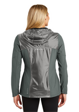 Load image into Gallery viewer, Panorama Cross Country-OGIO® ENDURANCE Ladies Liquid Jacket-LOE723 GEAR GREY